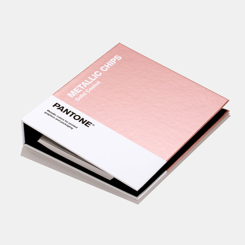 팬톤 메탈릭 칩 북 / GB1507A[PANTONE METALLIC CHIPS Book]